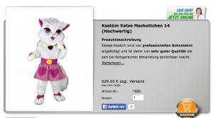 Katzenkostüme Katzen Kostüme Katzen Lauffiguren Katzen Tierkostüme Katzen Laufkostüme Katzen Walking Act´s Katzen Promotion Figuren  http://www.maskottchen24.de/39-katzen-katzenkostume-lauffiguren-laufkostume-maskottchen-kostum   Katzen Lauffiguren finden Sie jetzt günstig zu kaufen oder mieten bei Maskottchen24.de !!  Wir haben hier für Sie folgende Tierfiguren : - Hunde / Hund Kostüm Maskottchen - Katzen / Katze Kostüm Maskottchen - Mäuse / Maus Kostüm Maskottchen - Ratten / Ratte Kostüm Maskottchen