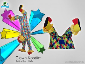 Clown-kostuem-102c