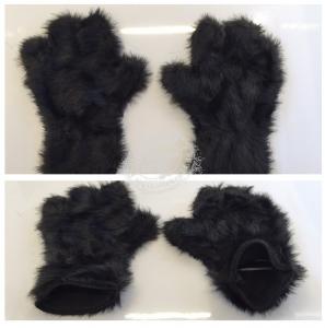 Hand-Maskottchen