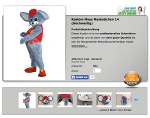 88a-Maus-Lauffigur-Kostüm Kopie