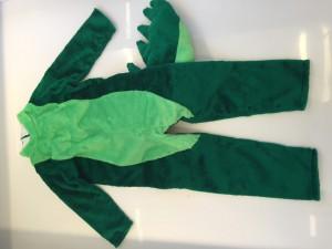 Kostüm-Krokodil-Lauffigur