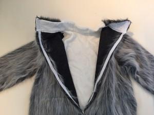 Kostüm-Wolf-Lauffigur
