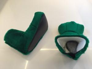 Drachen-Maskottchen-Kostüm