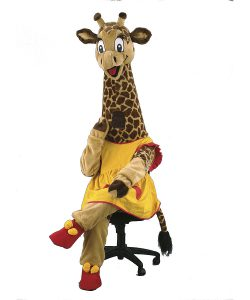 122c-Kostüm-Giraffe