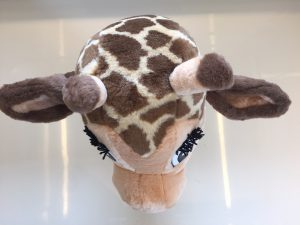 122c-Kostüm-Giraffen-Maskottchen