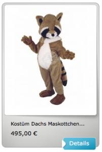 Dachs-Kostüm-73a-Lauffiguren