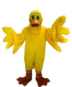 Ente-Kostüm-Lauffigur