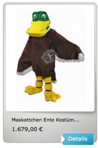 Enten-Kostüm