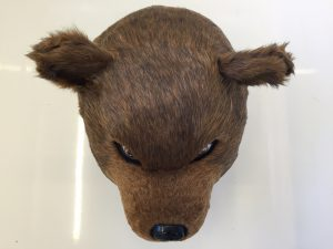 Grizzly-Bär-Lauffigur