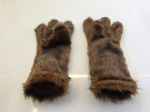 Grizzly-Lauffigur-Kostüm