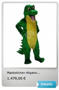 Krokodile-Lauffigur
