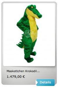 Krokodile-Lauffiguren