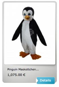 Pinguin-Lauffigur