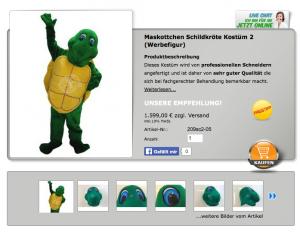 Schildkröten-Kostüm
