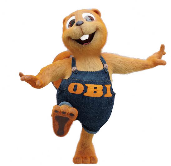 obi verleih beautiful maskottchen obi obibiber biber tengelmann kostm walkingact party with obi