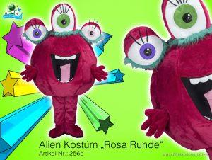 alien monster kost m maskottchen 256c ist heute. Black Bedroom Furniture Sets. Home Design Ideas
