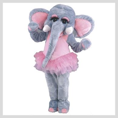 Das süße Elefanten Kostüm..........Wir haben noch viele weitere Kostüm Modelle für Sie in unserem Maskottchen24 Online Shop für Ihre Promotion Figur!!! Schauen Sie doch mal bei uns vorbei...