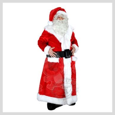 Das edle Weihnachtsmann Kostüm..........Wir haben noch viele weitere Kostüm Modelle für Sie in unserem Maskottchen24 Online Shop für Ihre Promotion Figur!!! Schauen Sie doch mal bei uns vorbei...