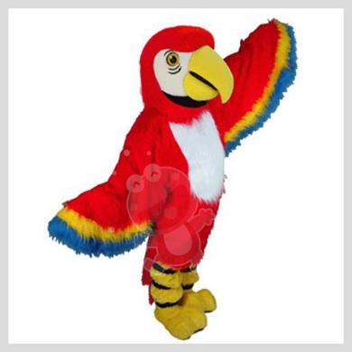 Das auffallende Papagei Kostüm..........Wir haben noch viele weitere Kostüm Modelle für Sie in unserem Maskottchen24 Online Shop für Ihre Promotion Figur!!! Schauen Sie doch mal bei uns vorbei...