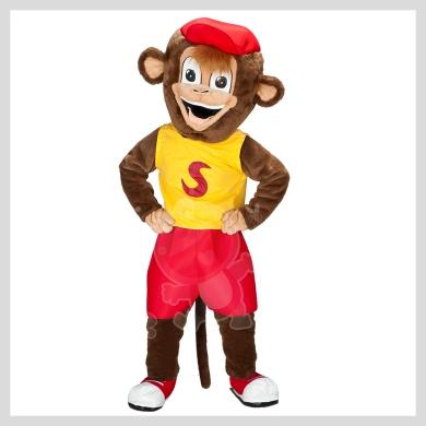 Das Affen Kostüm..........Wir haben noch viele weitere Kostüm Modelle für Sie in unserem Maskottchen24 Online Shop für Ihre Promotion Figur!!! Schauen Sie doch mal bei uns vorbei...