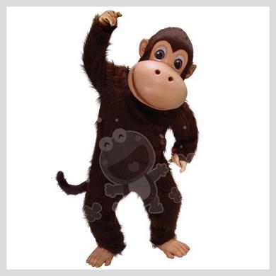 Das lustige Affen Kostüm..........Wir haben noch viele weitere Kostüm Modelle für Sie in unserem Maskottchen24 Online Shop für Ihre Promotion Figur!!! Schauen Sie doch mal bei uns vorbei...