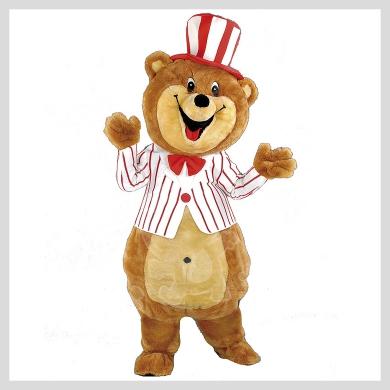 Das lustige Bären Kostüm..........Wir haben noch viele weitere Kostüm Modelle für Sie in unserem Maskottchen24 Online Shop für Ihre Promotion Figur!!! Schauen Sie doch mal bei uns vorbei...