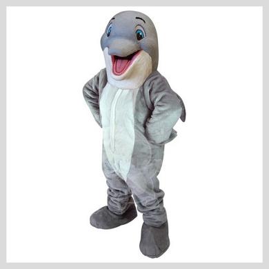 Das freundliche Delphin Kostüm..........Wir haben noch viele weitere Kostüm Modelle für Sie in unserem Maskottchen24 Online Shop für Ihre Promotion Figur!!! Schauen Sie doch mal bei uns vorbei...