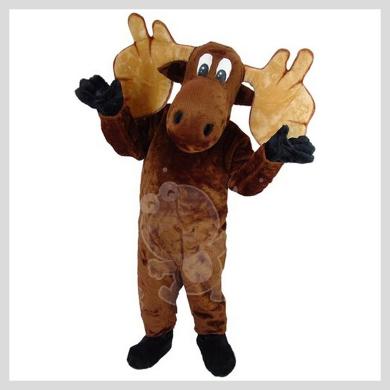 Das verrückte Elch Kostüm..........Wir haben noch viele weitere Kostüm Modelle für Sie in unserem Maskottchen24 Online Shop für Ihre Promotion Figur!!! Schauen Sie doch mal bei uns vorbei...