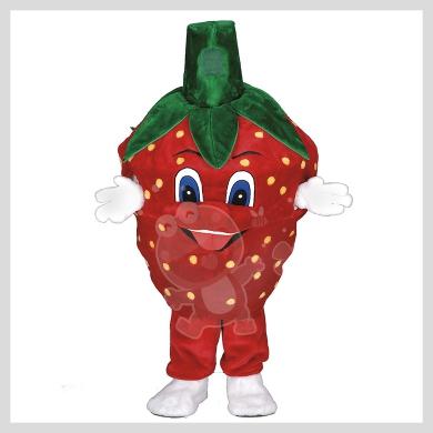 Das auffallende Erdbeer Kostüm..........Wir haben noch viele weitere Kostüm Modelle für Sie in unserem Maskottchen24 Online Shop für Ihre Promotion Figur!!! Schauen Sie doch mal bei uns vorbei...