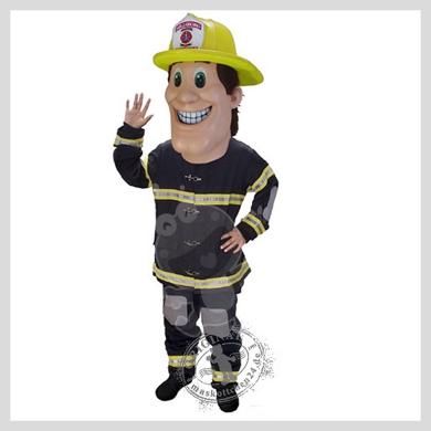Das Feuerwehrmann Kostüm..........Wir haben noch viele weitere Kostüm Modelle für Sie in unserem Maskottchen24 Online Shop für Ihre Promotion Figur!!! Schauen Sie doch mal bei uns vorbei...