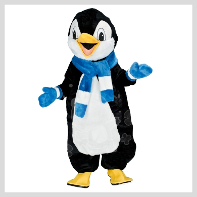 Das auffallende Pinguin Kostüm..........Wir haben noch viele weitere Kostüm Modelle für Sie in unserem Maskottchen24 Online Shop für Ihre Promotion Figur!!! Schauen Sie doch mal bei uns vorbei...