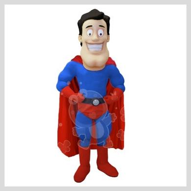 Das tolle Superheld Kostüm..........Wir haben noch viele weitere Kostüm Modelle für Sie in unserem Maskottchen24 Online Shop für Ihre Promotion Figur!!! Schauen Sie doch mal bei uns vorbei...