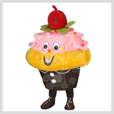 Das leckere Muffin Kostüm..........Wir haben noch viele weitere Kostüm Modelle für Sie in unserem Maskottchen24 Online Shop für Ihre Promotion Figur!!! Schauen Sie doch mal bei uns vorbei...