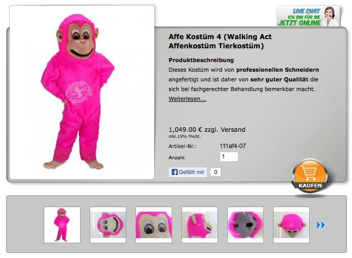 Maskottchen Kostüme günstig kaufen für Ihre Werbe Aktion als Promotion Kostüm