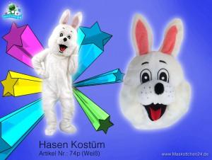 Hasen-kostuem-74p-weiß