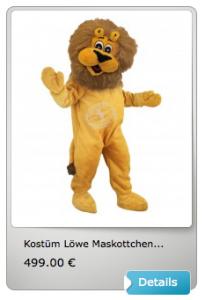 Löwen-Kostuem