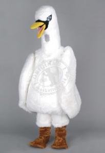 Schwan-Promotion-Kostüme