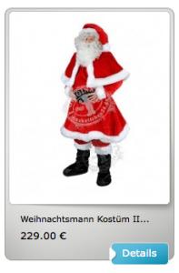 Weihnachtsmann-Kostuem