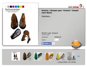 Schuhe-Maskottchen