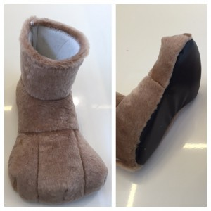 Schuhe-Maskottchen-Kostüm