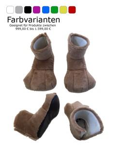 Schuhe-Parade-Maskottchen-Kostüm