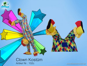 Clown-kostuem-102c