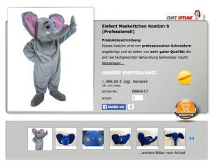 Elefanten-Kostüm Kopie