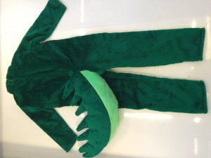 Kostüm-Krokodil-Lauffiguren