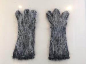 Kostüm-Wolf-Lauffiguren