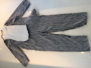 Kostüm-Wolf-Maskottchen