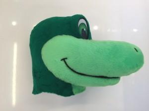 Krokodil-Kostuem-Maskottchen