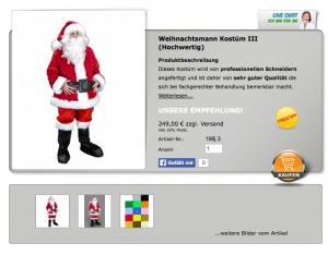 Maskottchen-198j-Weihnachtsmann