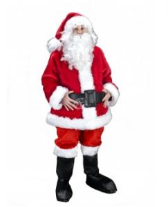 Maskottchen-Weihnachtsmann-198j-Kostum