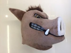 Wildschwein-Kostüme-Lauffiguren